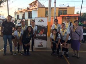 Pátzcuaro Campeón Femenil Voleibol