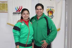 Alexa Cruz y Jesús Cruz (Wushu)