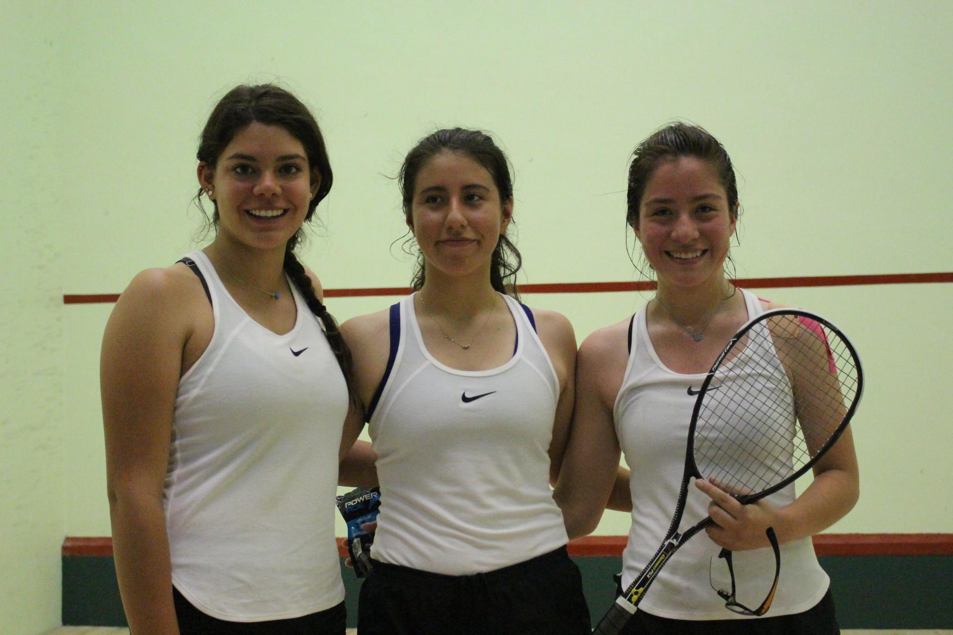 Paola Bucio, Mairely Álvarez y Gala Paniagua (1)