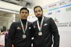 Tulio Rodríguez y Salvador Espinoza