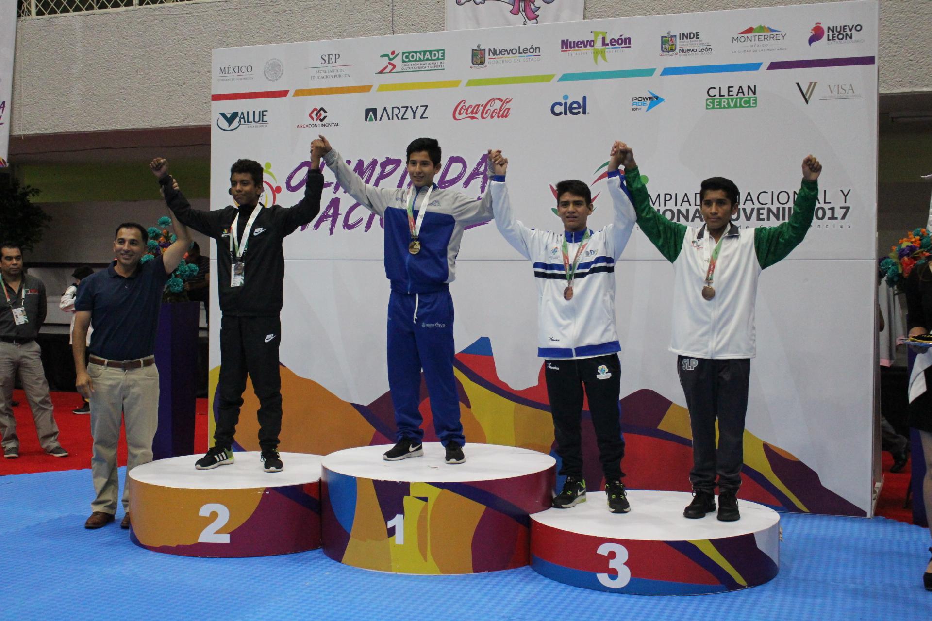 Premiación Emmanuel Hernández