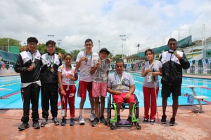 Medallistas Natación