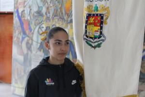 Abanderamiento Divany Martínez 2017. 2